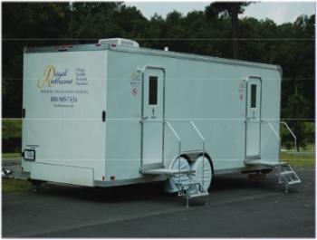 Portable Restroom Trailers By Royal Restrooms - Portable bathroom trailers