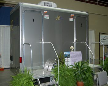 Platinum Luxury Toilet Trailers By Royal Restrooms