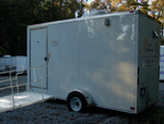 ADA Compliant Portable Shower Trailer