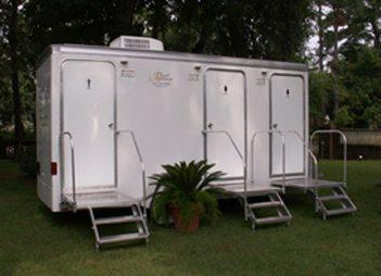 Portable Toilet Trailers