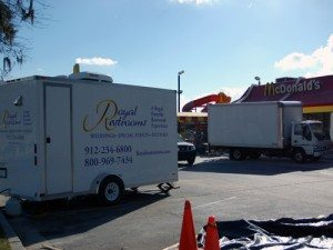 Portable Restroom Trailers for Business Remodels