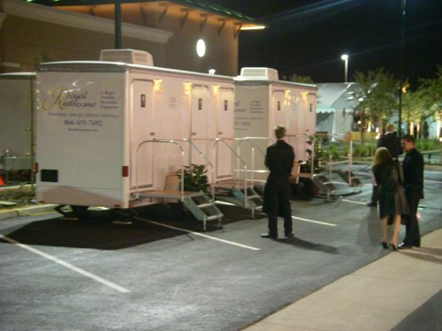 Luxury Portable Restrooms for Special Events
