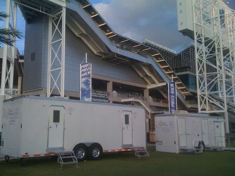 Executive Restrooms at Everbank Field