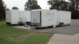 8 Stall Shower Trailers