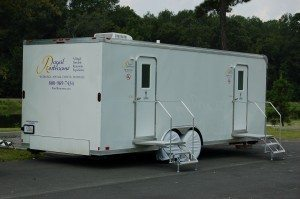 ... Portable Restroom Trailer For Camping U0026 Music Festival