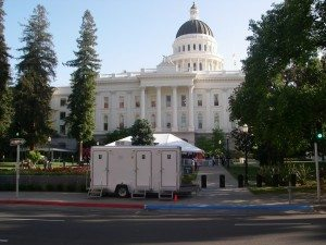 Los Angeles Portable Restrooms - Mobile Bathroom Rentals by Royal Restrooms