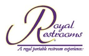 Royal Restrooms Logo with Tag Line