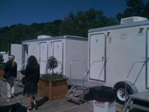 Private Stall Portable Restrooms at Iroquois Steeplechase
