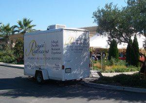 2 Stall Portable Restroom CA Home Event