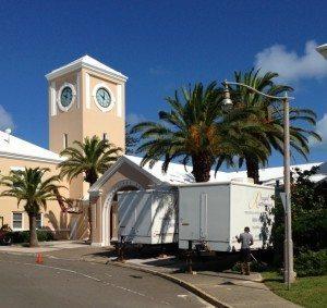 Portable Shower Trailers NatWest Island Games Bermuda