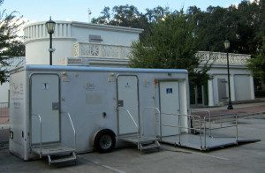 ADA Restroom Trailers for family fund raising events