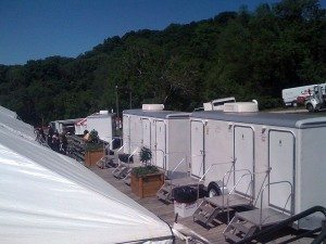 Luxury Portable Restrooms at Steeplechase