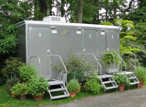 Upscale Portable Restrooms Complete Vip Events Royal