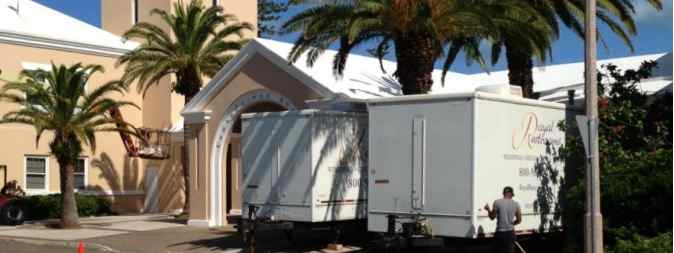 shower trailer rental