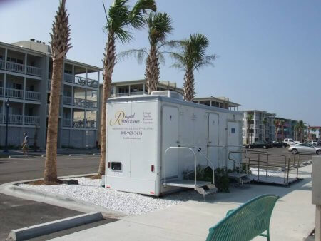ADA Certified Portable Restrooms from Royal Restrooms